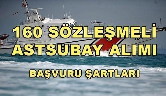 Sahil Güvenlik Komutanlığı 160 Sözleşmeli Astsubay Alacak - Başvuru Şartları