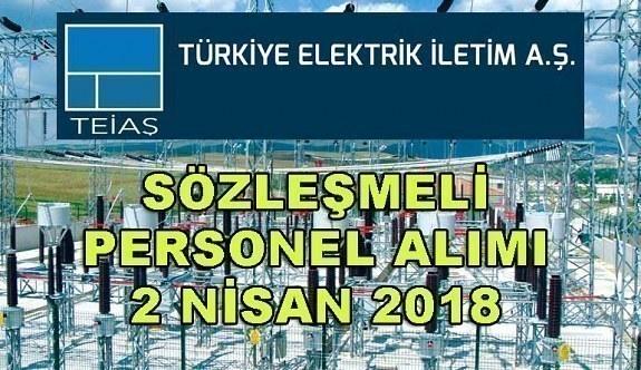 TEİAŞ sözleşmeli personel alımı yapacak - 2 Nisan 2018