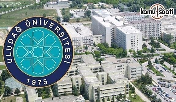Uludağ Üniversitesi 191 Sözleşmeli Personel Alacak - 12 Nisan 2018
