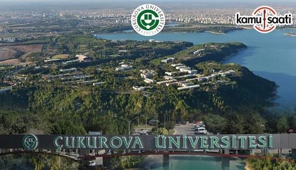 Çukurova Üniversitesi Lisansüstü Eğitim ve Öğretim Yönetmeliğinde Değişiklik Yapıldı - 14 Mayıs 2018 Pazartesi
