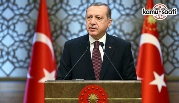 Cumhurbaşkanı Erdoğan: ABD, Filistin tarafını cezalandırmıştır