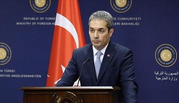 Dışişleri Bakanlığı Sözcüsü Aksoy'dan F-35 açıklaması! Karşılık vermeye mecbur kalırız
