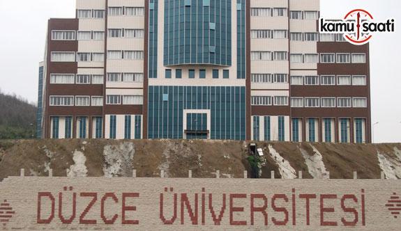Düzce Üniversitesi Yaşamboyu Eğitim Uygulama ve Araştırma Merkezi Yönetmeliğinde Değişiklik Yapıldı - 7 Mayıs 2018 Pazartesi