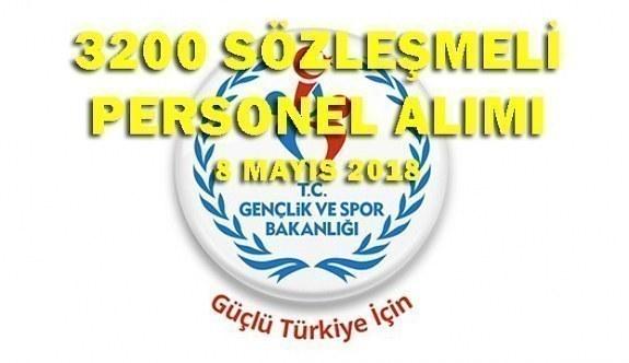 Gençlik ve Spor Bakanlığı 3200 sözleşmeli personel alım ilanı - Başvuru şartları