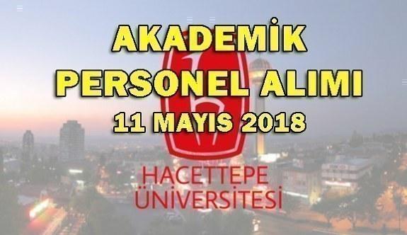 Hacettepe Üniversitesi öğretim üyesi alım ilanı - Başvuru şartları