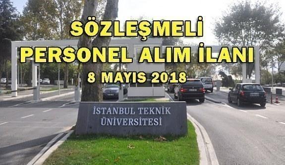 İstanbul Teknik Üniversitesi Sözleşmeli Büro Personeli Alacak