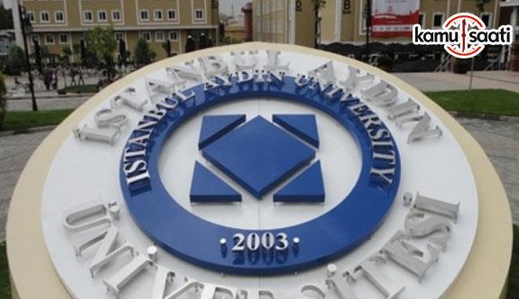İstanbul Aydın Üniversitesi Ön Lisans ve Lisans Eğitim ve Öğretim Yönetmeliği - 9 Mayıs 2018 Çarşamba