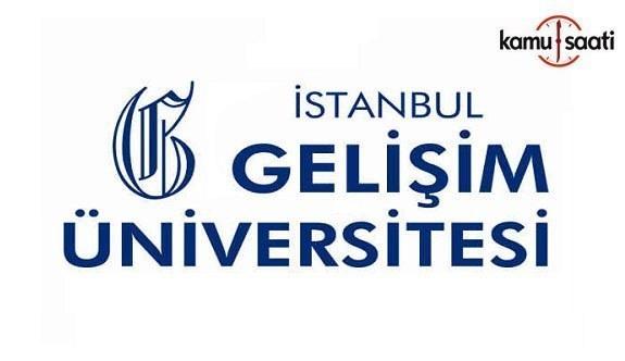 İstanbul Gelişim Üniversitesi Yabancı Diller Yüksekokulu ve Hazırlık Sınıfı Eğitim-Öğretim Yönetmeliği - 28 Mayıs 2018 Pazartesi