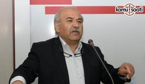 """Memur-Sen Ankara İl Başkanı Mustafa Kır, """"Kamu emekçisi Bayram İkramiyesine kilitlendi"""" dedi"""