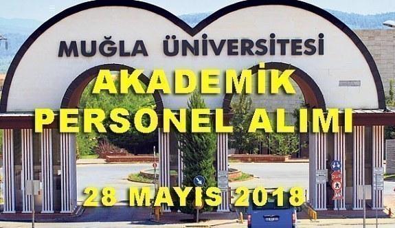 Muğla Sıtkı Koçman Üniversitesi 9 Akademik Personel Alımı - Başvuru Şartları
