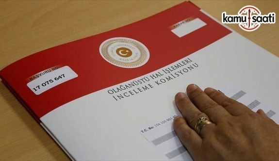 OHAL Komisyonu 17 bin başvuruyu karara bağladı