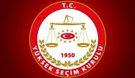 YSK'dan seçim kararı! Resmi Gazete'deki Cumhurbaşkanı adayları listesi