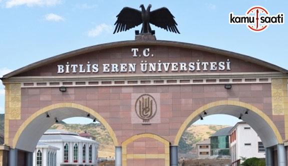 Bitlis Eren Üniversitesi Ahlat Kubbetül İslam Uygulama ve Araştırma Merkezi Yönetmeliği - 6 Haziran 2018 Çarşamba