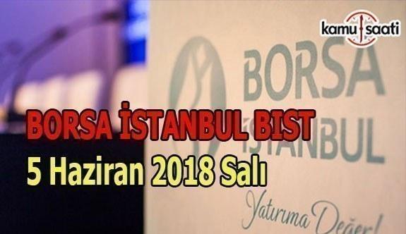 Borsa güne yükselişle başladı - Borsa İstanbul BİST 5 Haziran 2018 Salı