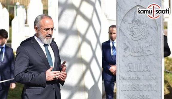 Cumhurbaşkanı Başdanışmanı Yalçın Topçu Boşnak kardeşlerimizi telekonferansla selamladı
