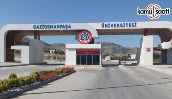 Gaziosmanpaşa Üniversitesi Ön Lisans ve Lisans Eğitim-Öğretim ve Sınav Yönetmeliğinde Değişiklik Yapıldı - 5 Haziran 2018 Salı