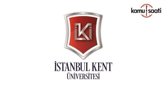 İstanbul Kent Üniversitesi Yaşam Boyu Eğitim Uygulama ve Araştırma Merkezi Yönetmeliği - 18 Haziran 2018 Pazartesi