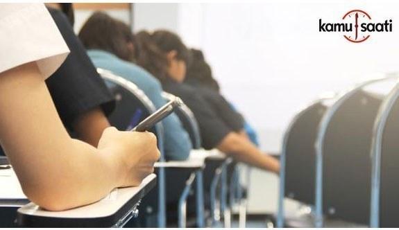 Liselere girişte uygulanan merkezi sınavın ikinci bölümü başladı