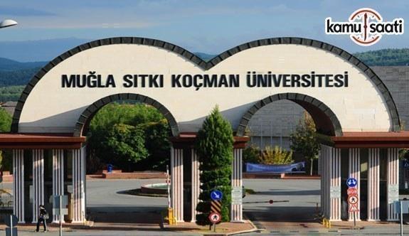 Muğla Sıtkı Koçman Üniversitesi Yörük-Türkmen Tarihi ve Kültürü Uygulama ve Araştırma Merkezi Yönetmeliği - 1 Haziran 2018 Cuma