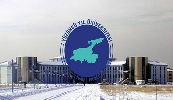 Van Yüzüncü Yıl Üniversitesi 30 Akademik Personel Alım İlanı - 29 Haziran 2018