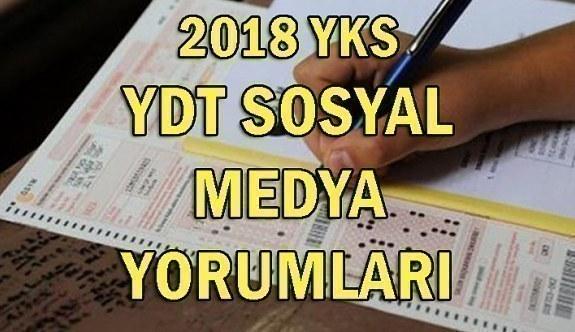 2018 YKS sınavı sosyal medya yorumları! 1 Temmuz YDT sınavı nasıldı?