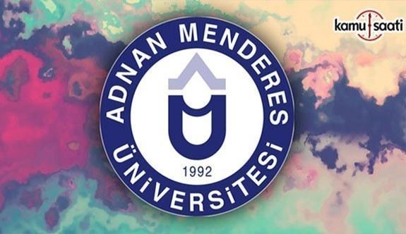 Aydın Adnan Menderes Üniversitesi Bitkisel Hammadde ve Ürün Geliştirme Uygulama ve Araştırma Merkezi Yönetmeliği - 16 Temmuz 2018 Pazartesi