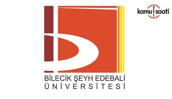 Bilecik Şeyh Edebali Üniversitesi Yaz Okulu Yönetmeliğinde Değişiklik Yapıldı - 12 Temmuz 2018 Perşembe