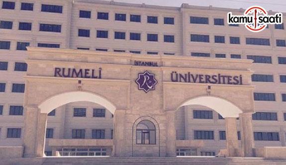 İstanbul Rumeli Üniversitesi Yaz Öğretimi Yönetmeliği - 12 Temmuz 2018 Perşembe