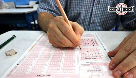 KPSS lisans alan bilgisi sınavları başladı