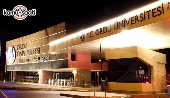 Ordu Üniversitesi Tıp Fakültesi Eğitim-Öğretim ve Sınav Yönetmeliği - 2 Temmuz 2018 Pazartesi