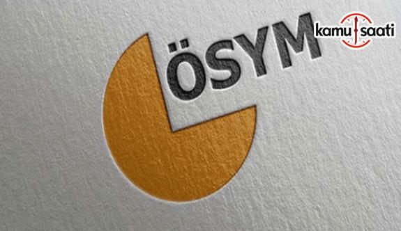 ÖSYM Başkanı Özer'den 'YKS' açıklaması