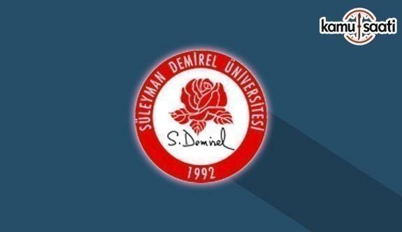 Süleyman Demirel Üniversitesi Yabancı Diller Yüksekokulu Yabancı Dil Hazırlık Eğitim-Öğretim Yönetmeliğinde Değişiklik Yapıldı - 1 Temmuz 2018 Pazar