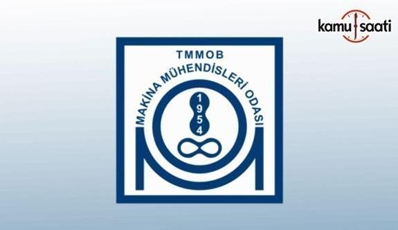 TMMOB Makine Mühendisleri Odası Akışkan Gücü Mühendis Yetkilendirme ve Belgelendirme Yönetmeliği - 9 Temmuz 2018 Pazartesi