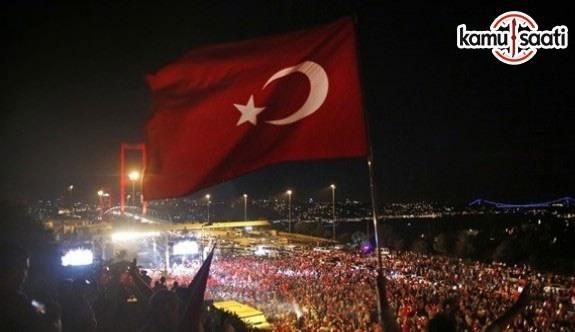 TÜSİAD, EGD ve Kuzu Gruptan 15 Temmuz Demokrasi ve Milli Birlik Günü açıklaması