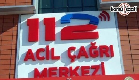 Yeni KHK ile 112'ye asılsız ihbar yapanlara para cezası verilecek