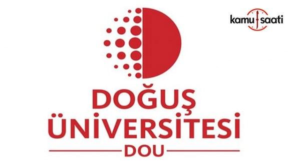 Doğuş Üniversitesi Önlisans ve Lisans Eğitim-Öğretim ve Sınav Yönetmeliğinde Değişiklik Yapıldı - 5 Ağustos 2018 Pazar