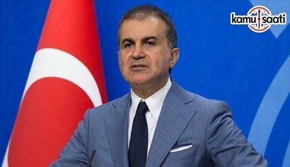 AK Parti Sözcüsü Çelik'ten ABD'nin UNRWA kararına tepki