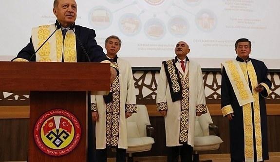 Erdoğan'dan Kırgızistan'da FETÖ açıklaması! Kardeşlerimizi uyarıyoruz