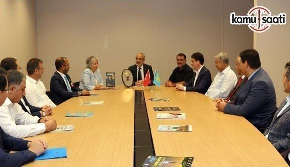 Liderlerimiz sayesinde Türkiye-Kazakistan ilişkinleri altın çağını yaşıyor