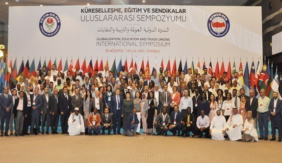 Uluslararası 'Küreselleşme, Eğitim ve Sendikalar' sempozyumu sonuç bildirisi