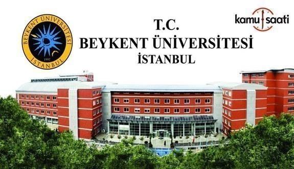 Beykent Üniversitesi Önlisans ve Lisans Eğitim-Öğretim Yönetmeliğinde Değişiklik Yapıldı - 18 Ekim 2018 Perşembe