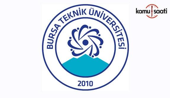 Bursa Teknik Üniversitesi'ne ait 2 yönetmelik Resmi Gazete'de yayımlandı - 11 Ekim 2018 Perşembe