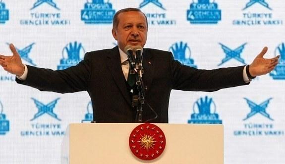 Erdoğan'dan burs açıklaması! TÜGVA Genel Merkez açılışı