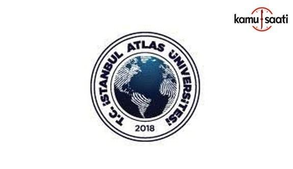 İstanbul Atlas Üniversitesi Ana Yönetmeliği - 23 Ekim 2018 Salı