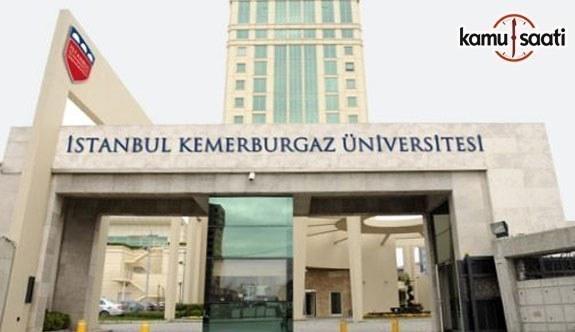 İstanbul Kemerburgaz Üniversitesi'ne ait 2 yönetmelik Resmi Gazete'de yayımlandı - 20 Ekim 2018 Cumartesi