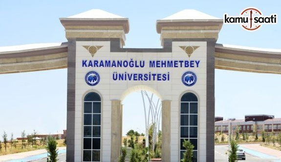 Karamanoğlu Mehmetbey Üniversitesi'ne ait 3 yönetmelik Resmi Gazete'de yayımlandı- 22 Ekim 2018 Pazartesi
