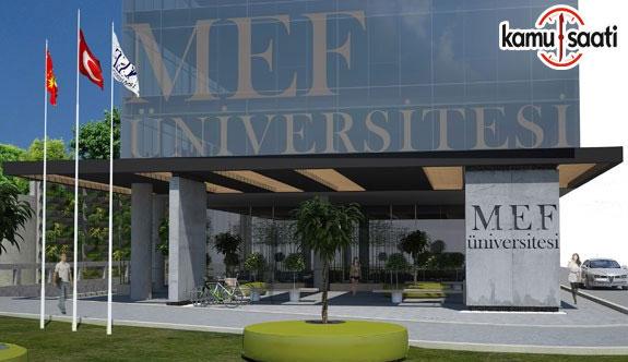 MEF Üniversitesi Enerji ve Çevre Uygulama ve Araştırma Merkezi Yönetmeliği - 30 Ekim 2018 Salı