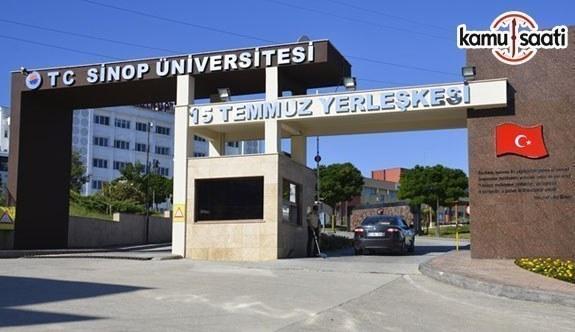 Sinop Üniversitesi Lisansüstü Eğitim ve Öğretim Yönetmeliğinde Değişiklik Yapıldı - 4 Ekim 2018 Perşembe