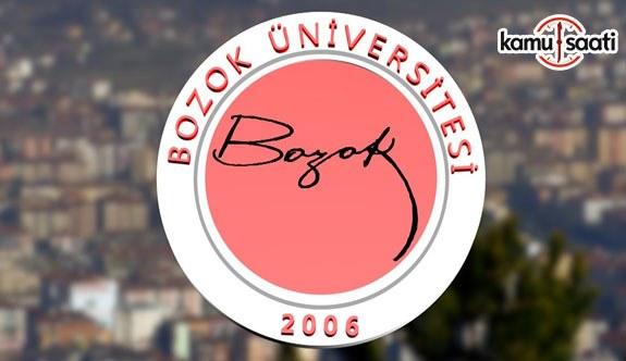 Yozgat Bozok Üniversitesi Çocuk Gelişimi, Eğitimi Uygulama ve Araştırma Merkezi Yönetmeliği - 12 Ekim 2018 Cuma