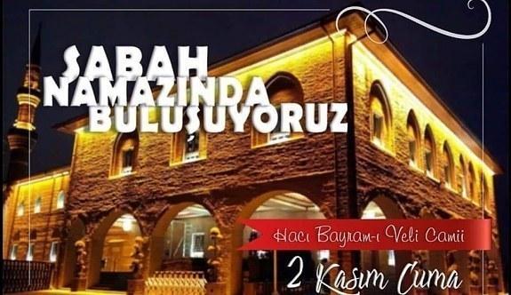 """Çankaya Tapu Kadastro Mesleki ve Teknik Anadolu Lisesi'nden """"Sabah Namazında Buluşuyor"""" Projesi"""